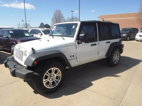 2007 Jeep Wrangler Unlimited for sale in South Sioux City, NE