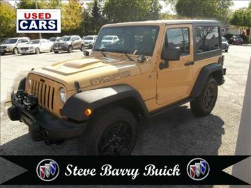 2013 Jeep Wrangler for sale in Lakewood, OH