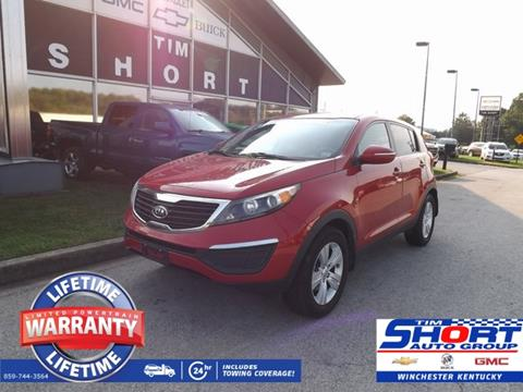 2012 Kia Sportage for sale in Winchester, KY