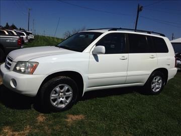 2003 Toyota Highlander for sale in Winchester, KY