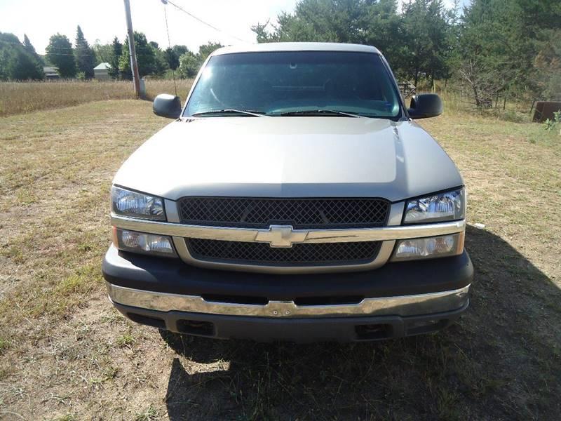 2003 Chevrolet Silverado 1500 for sale at Clark Automotive in Lake Ann MI