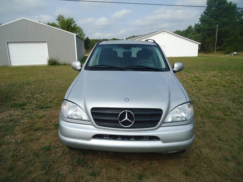 2001 Mercedes-Benz M-Class for sale at Clark Automotive in Lake Ann MI