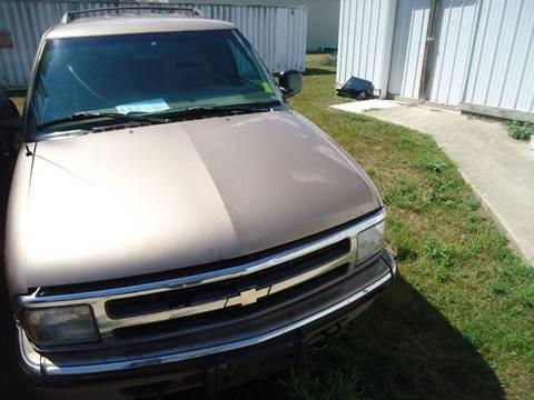 1997 Chevrolet Blazer for sale at Clark Automotive in Lake Ann MI
