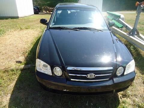2006 Kia Optima for sale at Clark Automotive in Lake Ann MI