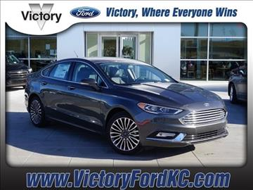 2017 Ford Fusion for sale in Kansas City, KS