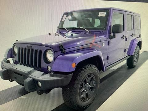 2016 Jeep Wrangler Unlimited for sale in Pikeville, KY