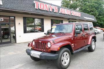 2008 Jeep Wrangler Unlimited for sale in Waterbury, CT