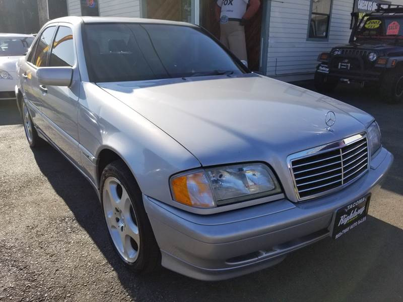 1998 Mercedes Benz C Class For Sale At Rightway Auto Sales In Tacoma WA
