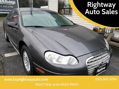 Rightway Auto Sales >> 2004 Chrysler Concorde For Sale In Tacoma Wa
