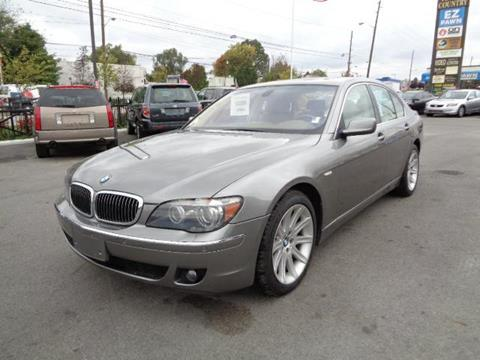 2006 BMW 7 Series for sale at Honest Abe Auto Sales 1 in Indianapolis IN