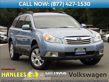 2011 Subaru Outback for sale in Richmond, CA