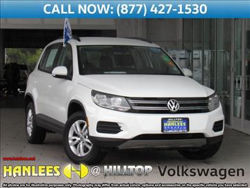 2016 Volkswagen Tiguan for sale in Richmond, CA