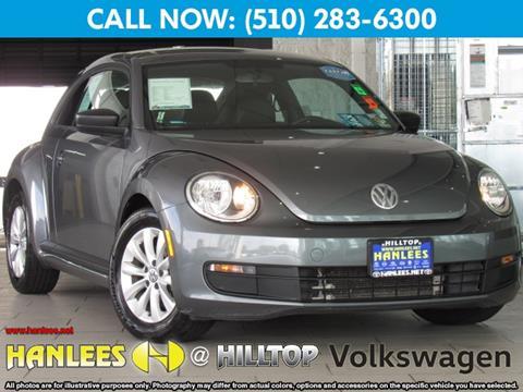 2016 Volkswagen Beetle for sale in Richmond CA