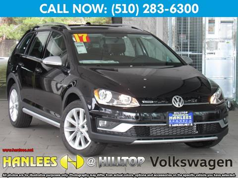 2017 Volkswagen Golf Alltrack for sale in Richmond, CA