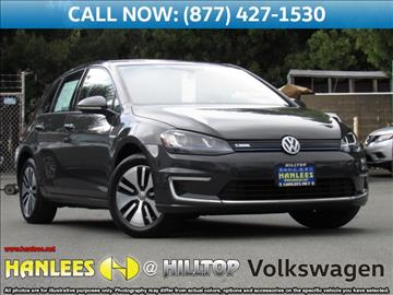 2015 Volkswagen e-Golf for sale in Richmond, CA