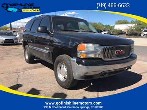 2002 GMC Yukon for sale in Colorado Springs, CO