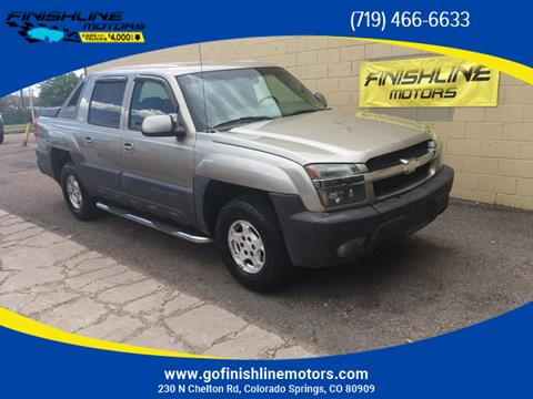 2003 Chevrolet Avalanche for sale in Colorado Springs, CO