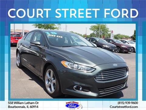2015 Ford Fusion for sale in Bourbonnais, IL