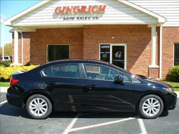 2012 Honda Civic for sale in Mount Joy, PA