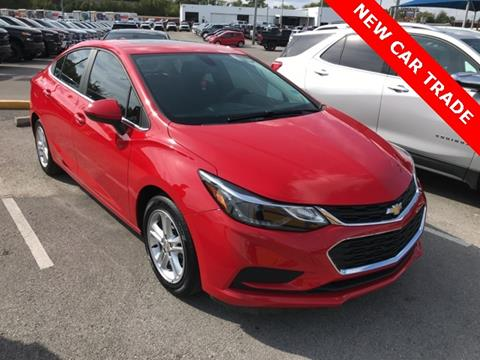 2016 Chevrolet Cruze for sale in Louisville, KY