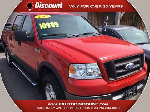 2005 Ford F-150 for sale at eAutoDiscount in Buffalo NY