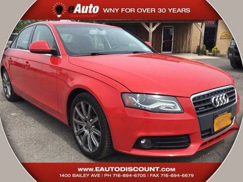 2009 Audi A4 for sale at eAutoDiscount in Buffalo NY