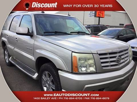 2004 Cadillac Escalade for sale at eAutoDiscount in Buffalo NY