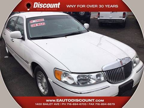 2000 Lincoln Town Car for sale at eAutoDiscount in Buffalo NY