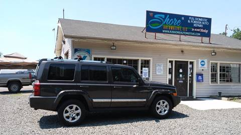 2006 Jeep Commander for sale at RJ SHORE AUTOMOTIVE, LLC II in North Branford CT