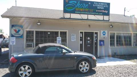 2004 Audi TT for sale at RJ SHORE AUTOMOTIVE, LLC II in North Branford CT