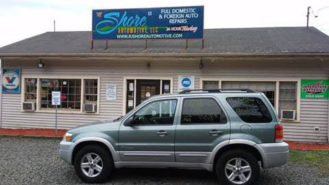 2007 Ford Escape Hybrid for sale at RJ SHORE AUTOMOTIVE, LLC II in North Branford CT