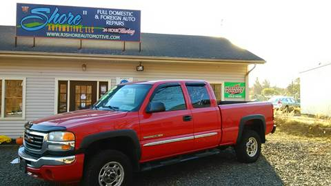 2004 GMC Sierra 2500HD for sale at RJ SHORE AUTOMOTIVE, LLC II in North Branford CT