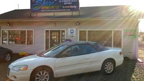 2005 Chrysler Sebring for sale at RJ SHORE AUTOMOTIVE, LLC II in North Branford CT