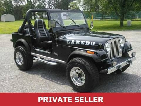 1985 Jeep CJ-5 for sale in Dallas, GA