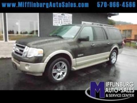 2008 Ford Expedition EL for sale in Mifflinburg, PA