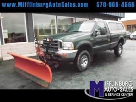 2002 Ford F-350 Super Duty for sale in Mifflinburg, PA