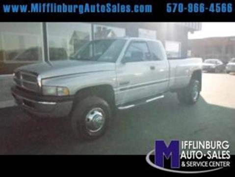 2001 Dodge Ram Pickup 3500 for sale in Mifflinburg, PA