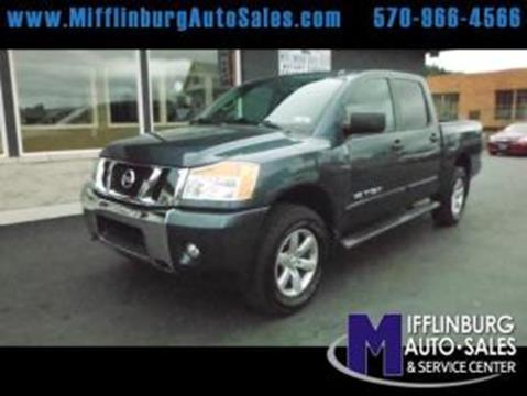 2014 Nissan Titan for sale in Mifflinburg, PA