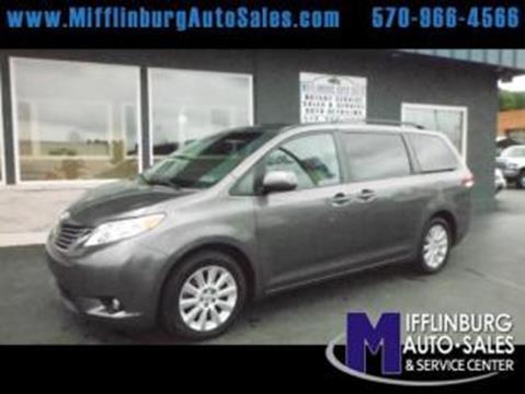 2013 Toyota Sienna for sale in Mifflinburg, PA