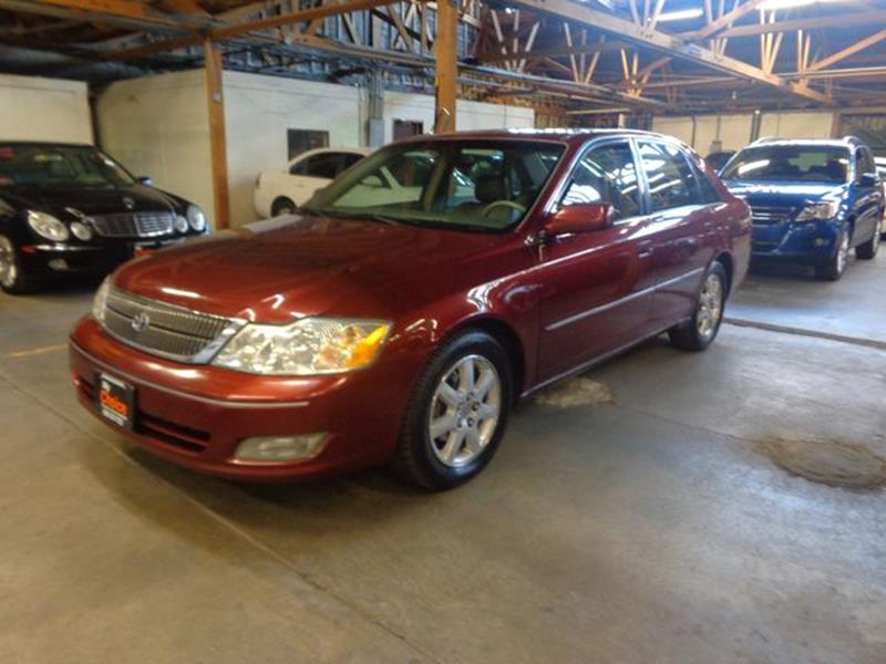2000 Toyota Avalon for sale at My Choice Auto Auction in Long Beach CA
