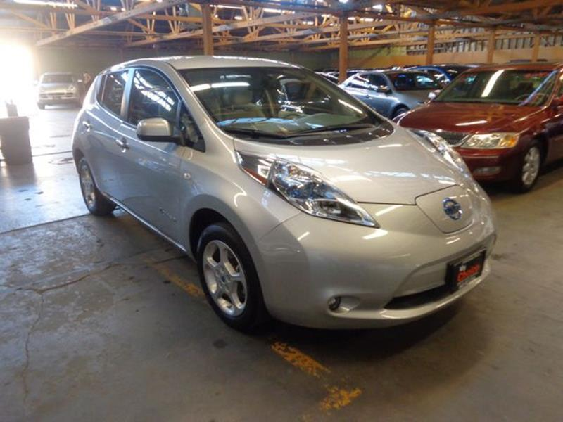 2011 Nissan LEAF for sale at My Choice Auto Auction in Long Beach CA