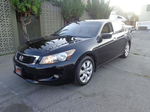 2008 Honda Accord for sale at My Choice Auto Auction in Long Beach CA