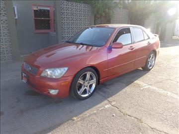 2001 Lexus IS 300 for sale at My Choice Auto Auction in Long Beach CA