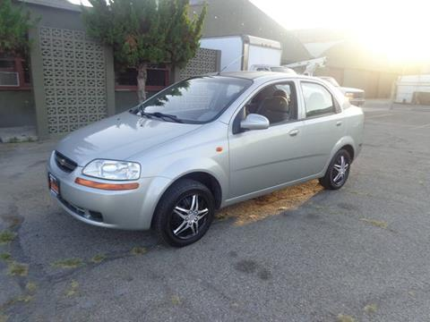2004 Chevrolet Aveo for sale in Long Beach, CA