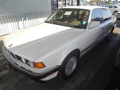 1993 BMW 7 Series for sale at My Choice Auto Auction in Long Beach CA