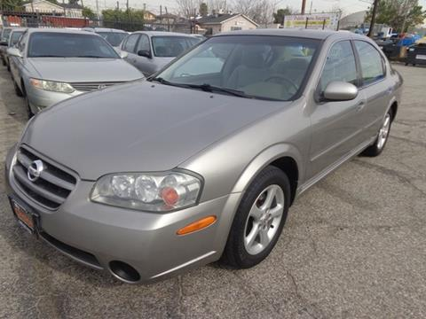 2002 Nissan Maxima for sale in Long Beach, CA