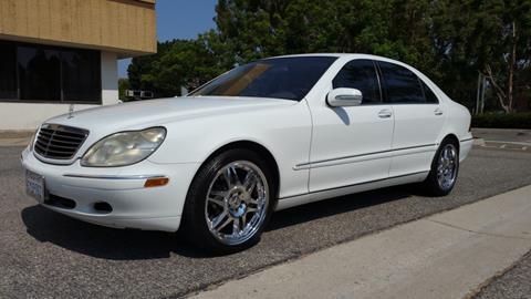 2001 Mercedes-Benz S-Class for sale in Costa Mesa, CA