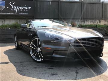 2010 Aston Martin DBS for sale in Seattle, WA