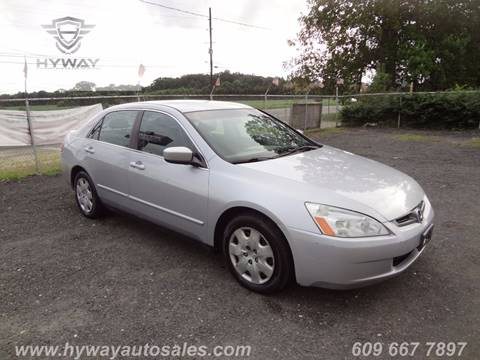 2003 Honda Accord for sale at Hyway Auto Sales in Lumberton NJ