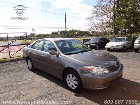 2004 Toyota Camry for sale at Hyway Auto Sales in Lumberton NJ
